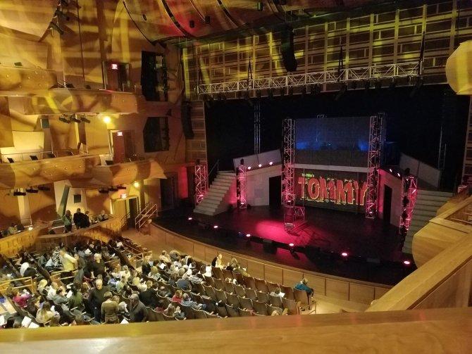 Photo: RT @lyon_sci: View from the mezzanine. @ChapmanCoPA @MuscoCenter #t...