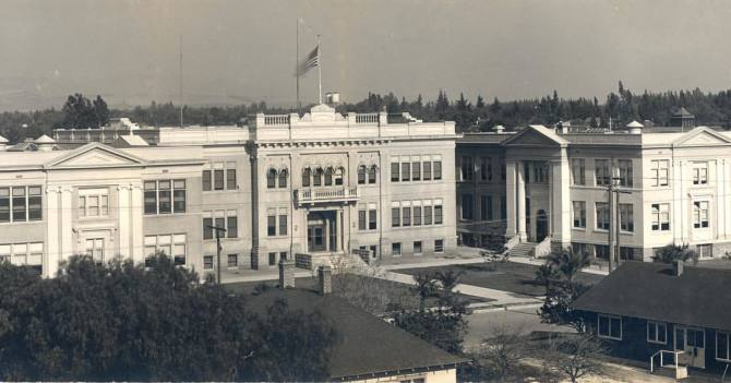 Photo: #ThrowbackThursday to the former Orange Union High School campus in...