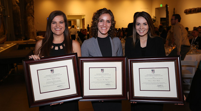 Photo: Chapman Law Graduates Honored at Annual Pre-Com...