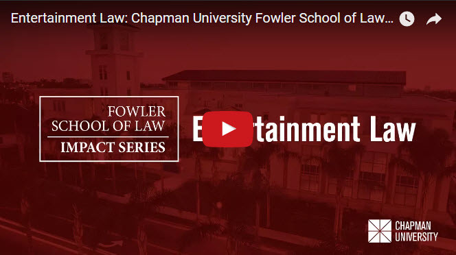 Photo: Fowler School of Law Releases Entertainment Law...
