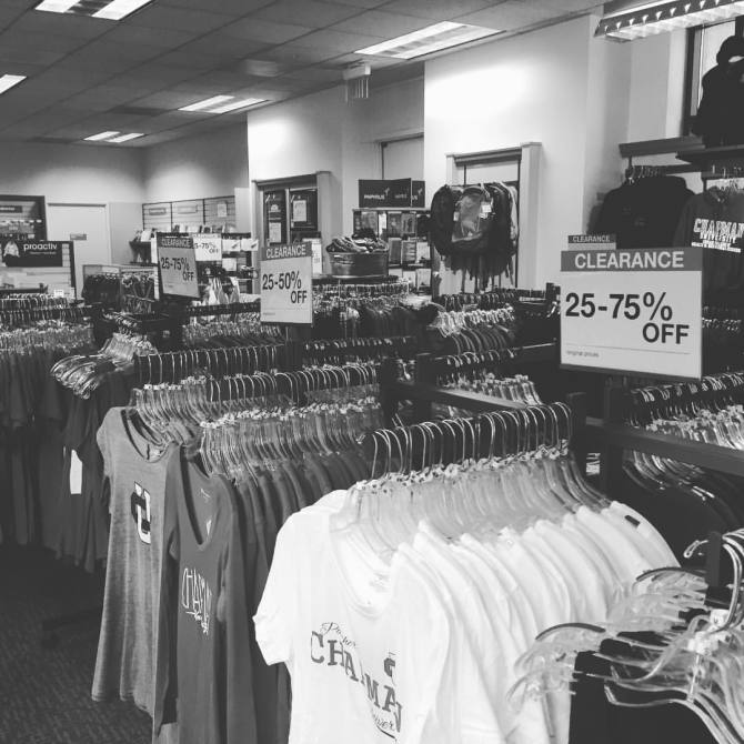 Photo: Out with the old... Clearance Event on now @chapmanstores - Shop no...