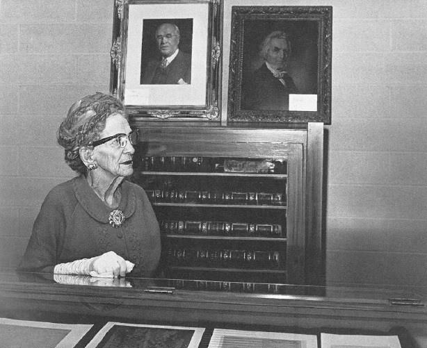 Photo: #ThrowbackThursday to Clara Irvin (Mrs. C.C.) Chapman in the Chapma...