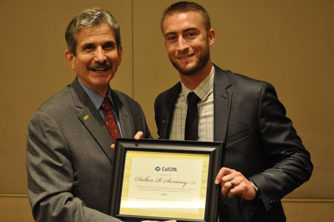 Photo: Kudos to Dalton R. Sweaney '11 on being recongnized for his achieve...