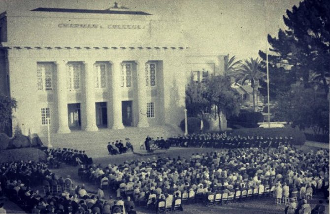 Photo: #tbt to 1955 when #ChapmanU relocated from Los Angeles to Orange 🍊