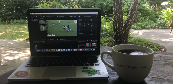 Photo: Remote Internship with GameTime Footage