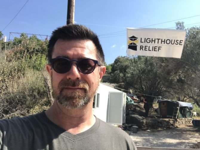Photo: Chapman Law Professor Assists with Refugee Cris...