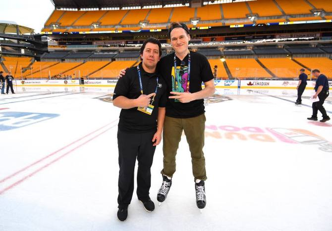 Photo: Chasing Dreams and Penguins: Andrew McIntyre '0...