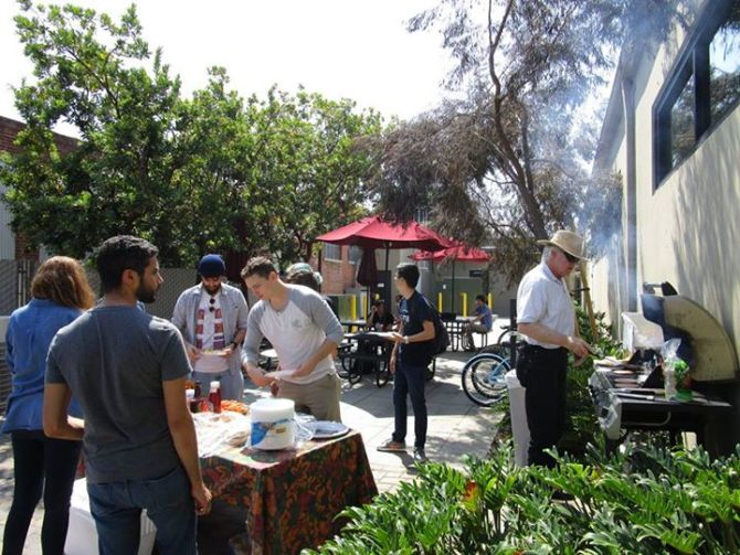 Photo: At yesterday's MPC BBQ, math, physics and computation students and ...