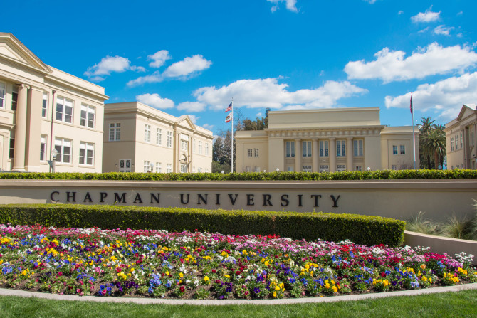 Photo: Chapman earns highest ranking yet in U.S. News ...
