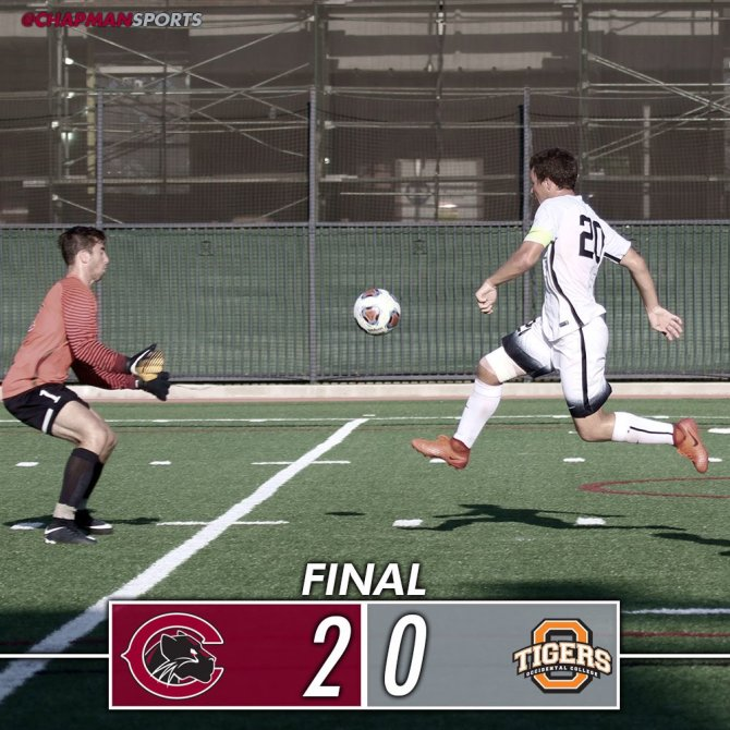 Photo: Congrats to men's soccer on earning its third consecutive win!! Goa...