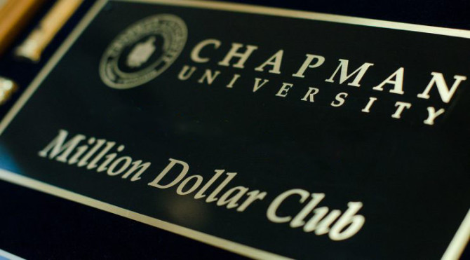 Photo: Chapman University faculty honored for achievem...