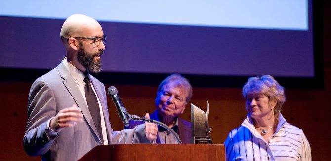 Photo: Arts Crusader Kevin Staniec '01 is Named 'Orang...