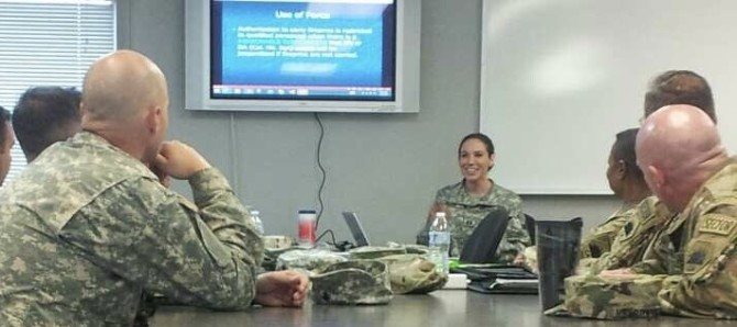 Photo: Serving those who served: Fowler Law alumna pro...