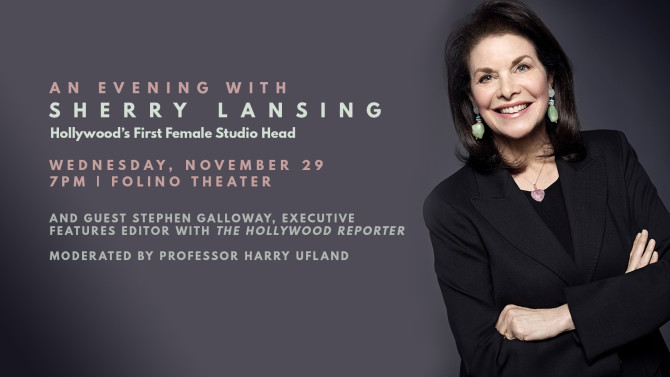Photo: An Evening with Sherry Lansing