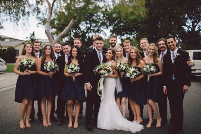 Photo: Rebecca Rolnick Knaack '12 married Jesse Knaack '11 on November, 19...