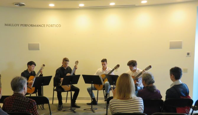 Photo: Music at the Malloy