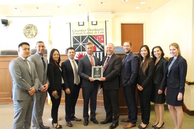 Photo: Chapman Law Mediation Clinics Receive Ninth Cir...