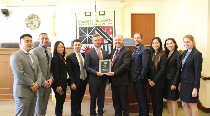 Photo: #ChapmanU Law Mediation Clinics receive Ninth Circuit ADR Education...