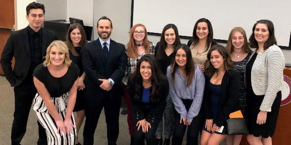 Photo: Attallah College's Fall IES Senior Symposium was a smashing success...