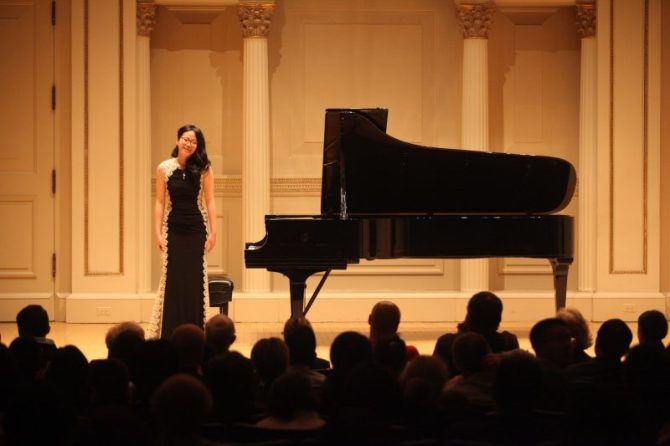 Photo: Chapman piano students win top prizes at Decemb...
