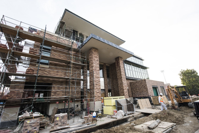 Photo: Seen the Keck Center lately?