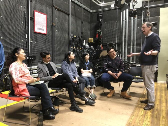 Photo: Dodge Hosts Directing/Acting Workshop for Aspir...