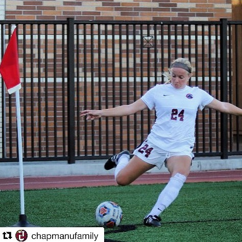 Photo: Our very own Katie Bell has taken over the @chapmanufamily account ...