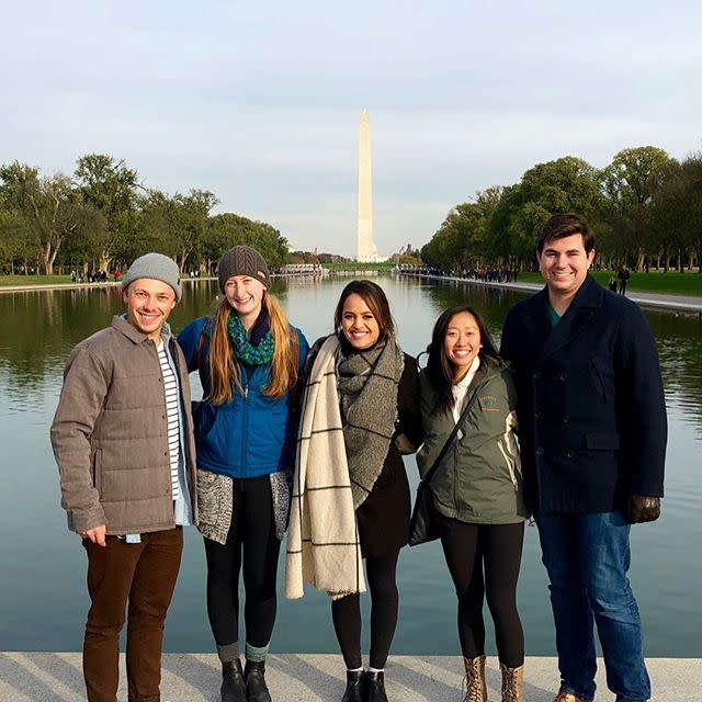 Photo: Many of our Environmental Science and Policy students, as well as s...