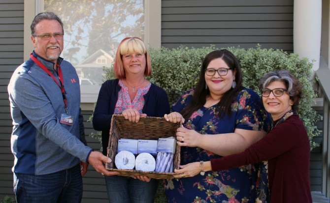 Photo: Chapman University makes menstrual products ava...