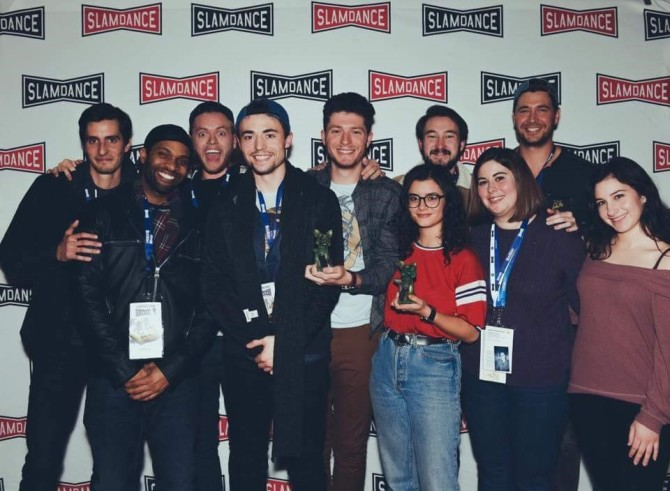 Photo: First Major Feature Wins at Slamdance