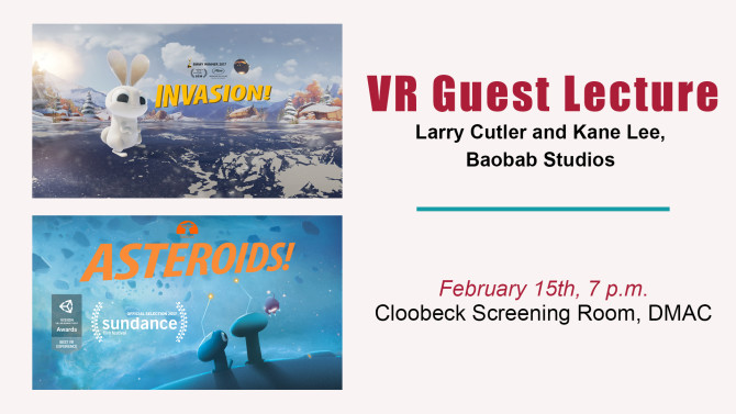 Photo: VR Visionaries to Lead Lecture