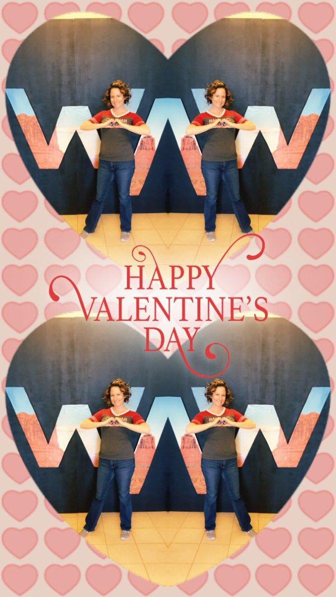 Photo: Happy Valentine's Day from Wilkinson College #CUBeyondHuman https:/...