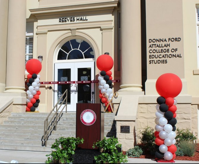 Photo: Reeves Hall Ribbon Cutting & Open House is today following the ...