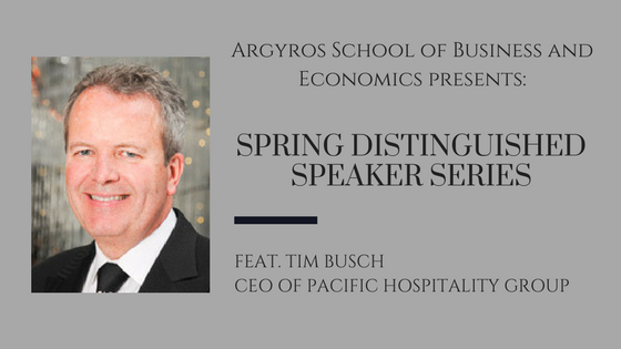 Photo: Distinguished Speaker Series to feature Tim Bus...