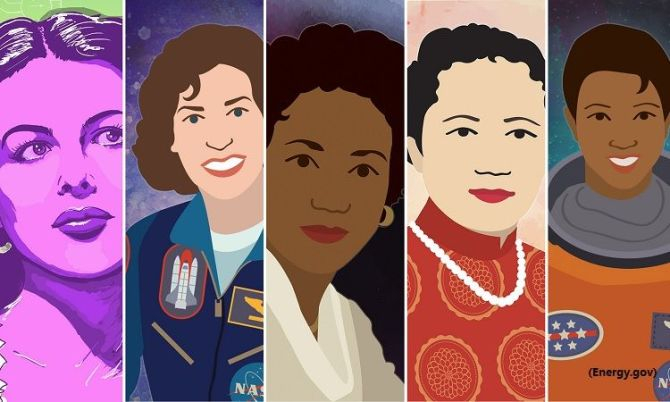 Photo: The Library Celebrates Women's History Month