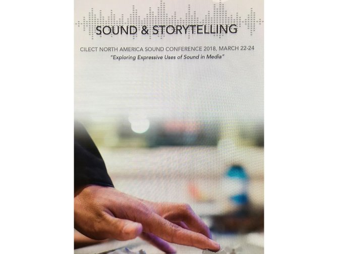 Photo: Our Sound & Storytelling conference was music to the ears of @B...