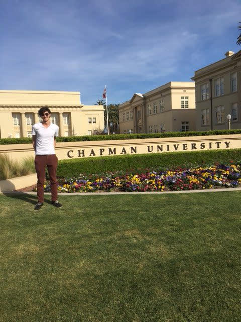 Photo: RT @sammythebatt: Heading to @ChapmanU in August, first step on my ...