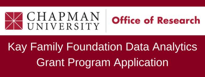 Photo: Kay Family Foundation Data Analytics Grant Program