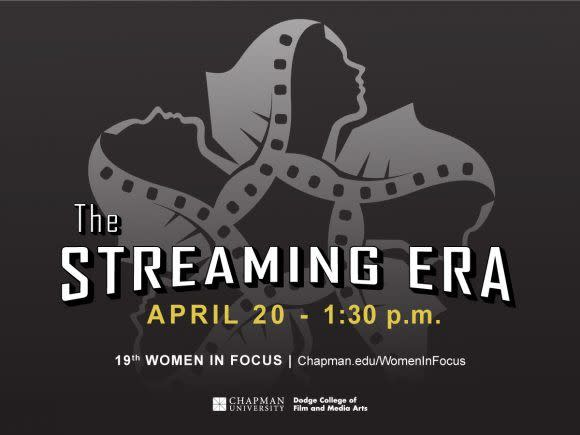 Photo: Today's the day - Women in Focus: The Streaming Era - begins at 1:3...