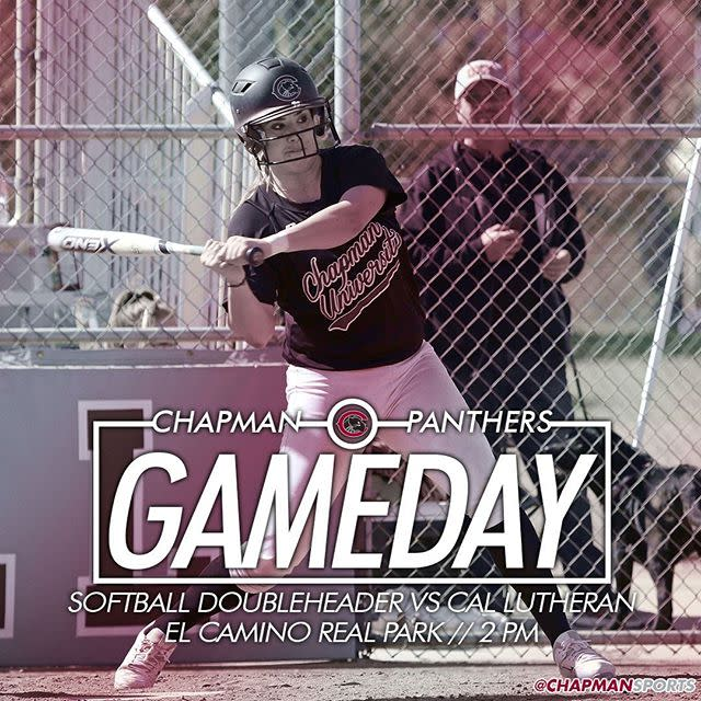 Photo: Head out to El Camino Real Park at 2pm for some softball doublehead...