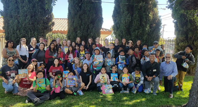 Photo: Chapman Hosts Higher Ground Youth & Family Serv...