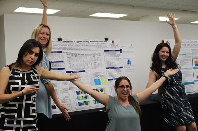 Photo: It was all work AND all play at yesterday's Rinker Research Day!