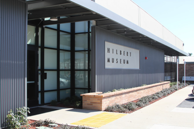 Photo: Founders of Hilbert Museum of California Art to...