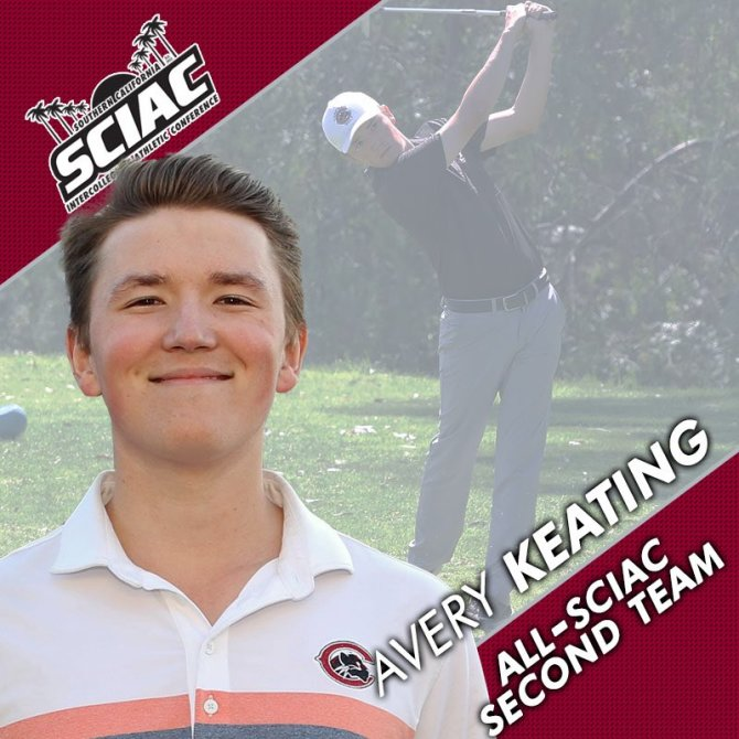 Photo: Record-breaker Avery Keating - All-SCIAC 2nd Team selection! Congra...