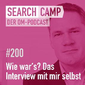 Rückblick auf 200 Episoden: Das Interview mit mir selbst! [Search Camp Episode 200]