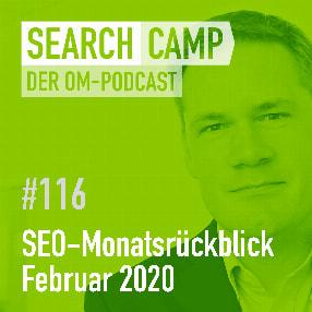 SEO-Monatsrückblick Februar 2020: SEO-Experimente, E-A-T, Bildersuche + mehr [Search Camp Episode 116]