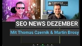 Video: SEO News Dezember und Jahresrückblick 2020