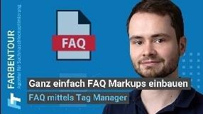 Video: FAQ Schema Markup mit Google Tag Manager einbauen (BRUTAL EINFACH)