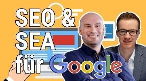 Video: Suchmaschinenmarketing 2021: SEO & Google Ads erfolgreich einsetzen | Alexander Küblbek im Interview