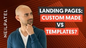 Video: Should You Design Your Landing Pages From Scratch or Use Templates?